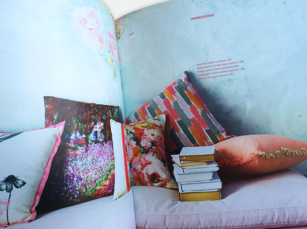 Asda George Home Lookbook SS16 Double Page Spread