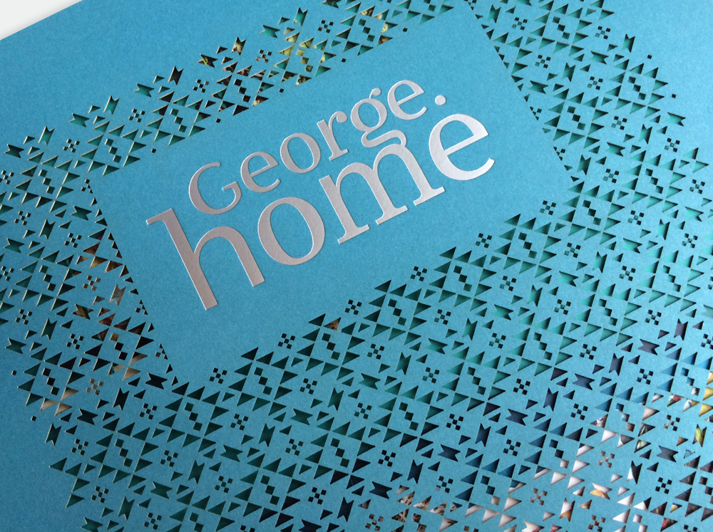 Asda George Home Lookbook SS16 Laser Cut Cover