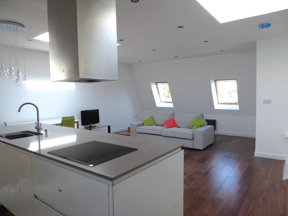 Moduloft penthouse development