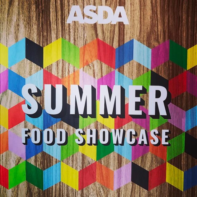 asda summerfood showcase looking BRIGHT this year