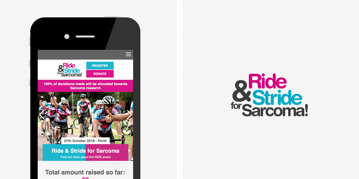 The Ride and Stride for Sarcoma! Mobile View